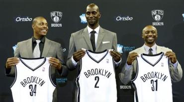 Pierce, Garnett y Terry ya son Nets