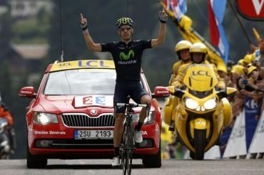 Rui Costa gana su segunda etapa en el Tour de Francia