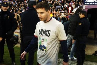 "Messi: ""¡Fuerza Tito, todos estamos contigo en esta lucha!"""