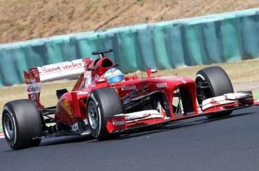 Vettel vuelve a ser el más rápido y Alonso repite cuarto