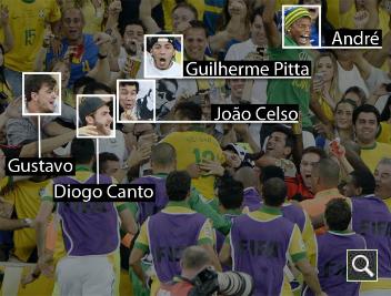 Neymar celebra su gol con sus amigos