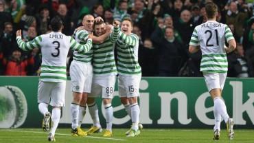 Emilio Izaguirre y Celtic se lucieron en la previa de la Champions