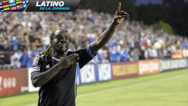 """Pery Martínez nombrado como el """"Latino de la Jornada"""" de la MLS."""