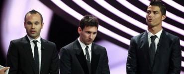 Messi y Cristiano optan al Trofeo UEFA al Mejor Jugador de Europa