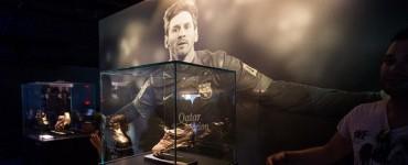 """Leo Messi ya tiene su espacio """"exclusivo"""" en el Museo del FC Barcelona"""