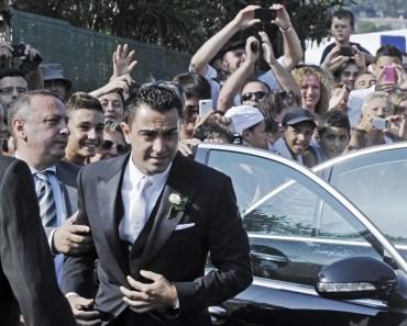 """Xavi da el """"Sí quiero"""" y se casa con Sara Carbonero"""