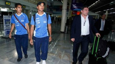 La Selección de Honduras ya abandonó Miami y está en Houston