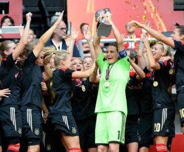 Alemania es la campeona de la Europa Femenino