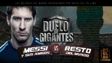 Amigos de Messi y Neymar juegan hoy Martes en el bautizado el 'Duelo de gigantes'