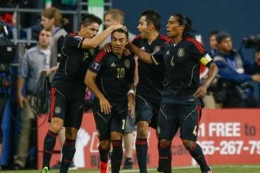 México consiguió su primer triunfo en la Copa Oro