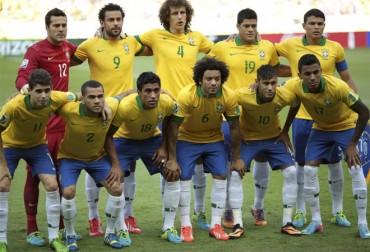 Brasil repetirá el once de la final de la Copa Confederaciones