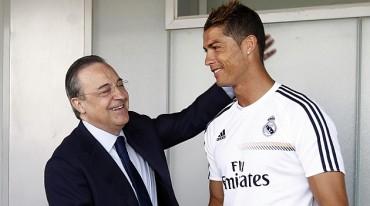 Cristiano Ronaldo seguirá en el Real Madrid hasta el 2018