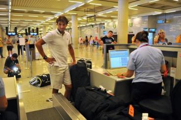 Un Rafa Nadal ya sin molestias puso rumbo a Montreal