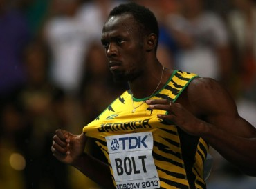 Una iglesia acortó la misa para pudieran ver la carrera de Usain Bolt