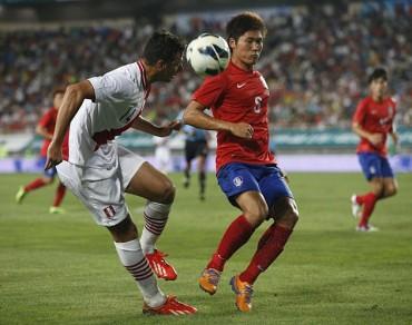 Un Perú gris no pasa del empate ante una aguerrida Corea del Sur