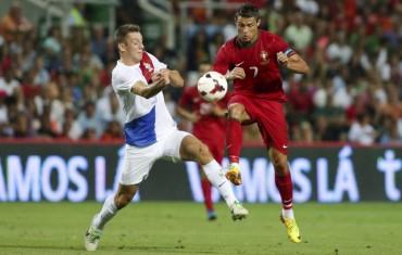 Portugal con Cristiano logran el empate ante Holanda