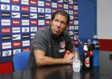 """Simeone: """"El Barça es favorito para ganar la Supercopa de España"""""""