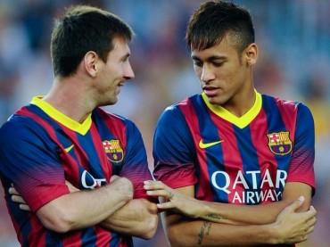 Messi y Neymar no se asocian entre ellos