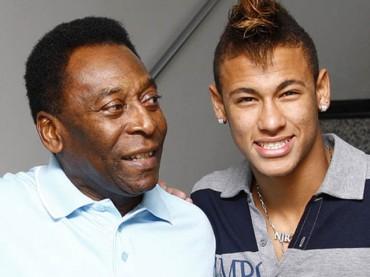 Pelé deja fuera a Neymar del Top-3 histórico del Santos