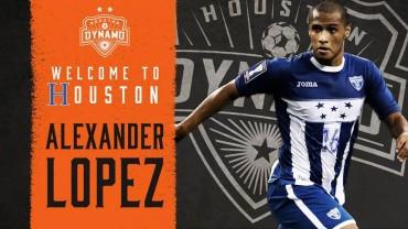 Alex López está bastante motivado por su traspaso al Houston Dynamo de la MLS
