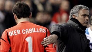 """Casillas: """"Si me cruzo con Mou le saludaré sin problema"""""""