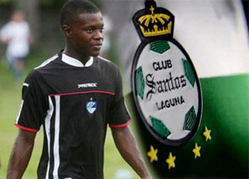 Júnior Lacayo viaja rumbo a  México para integrarse al Santos Laguna