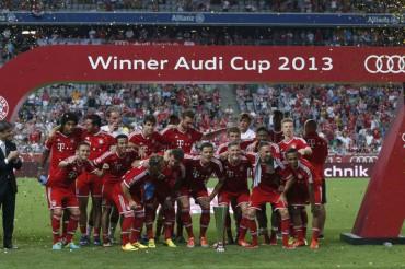 El Bayern se lleva la Audi Cup