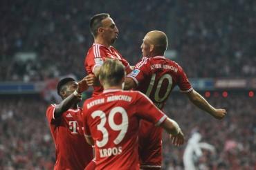 Buen debut del Bayern de Pep Guardiola en la Bundesliga