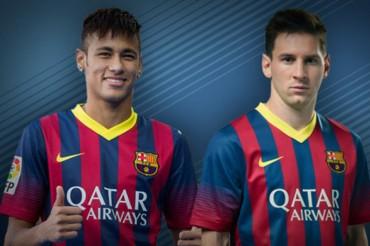 """Messi: """"Nos llevamos bien con Neymar, en el césped y fuera"""""""