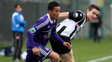 Andy Najar tuvo una tarde espectacular con las reservas del Anderlecht