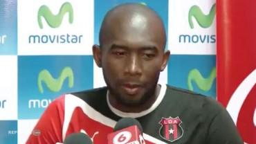 Jerry Palacios firmó por 1 año mas con el Alajuelense de Costa Rica