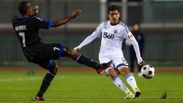 Vancouver de Leverón derrotaron a  San José Earthquakes de Víctor Bernárdez