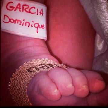 Falcao confirma el nacimiento de su hija Dominique
