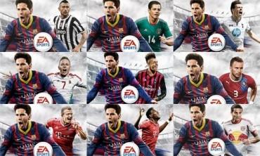 Estas son las nueve portadas del videojuego de FIFA 2014