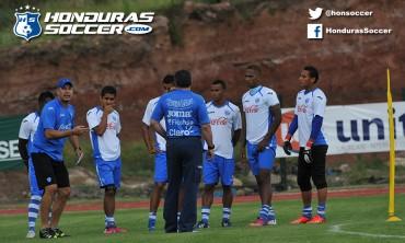 Selección de Honduras inició su preparación para enfretar a México