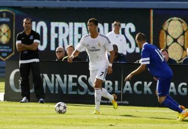 Real Madrid finalista de Champions Cup
