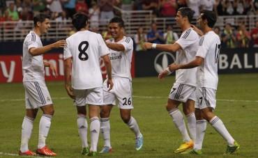 Real Madrid le gana al Inter de Milán 3-0 en amistoso