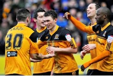 El Hull City venció 3-0 al Real Betis de España en partido amistoso