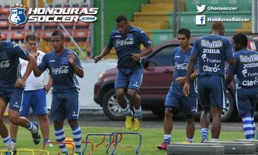 Honduras ya hizo su primer entrenamiento en Fort Lauderdale