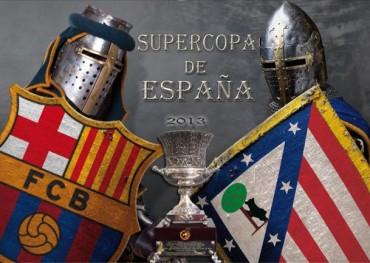 Barcelona y Atlético de Madrid definirán hoy la Supercopa de España
