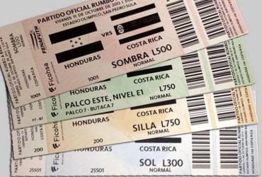 Los boletos de Honduras-Costa Rica se estan vendiendo como pan caliente