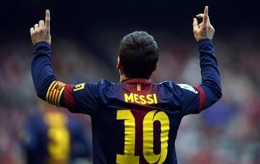 Leo Messi es el rey del gol