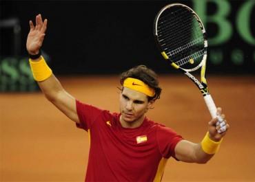 """Rafa Nadal: """"Lo que me hace feliz es ganar con esfuerzo"""""""
