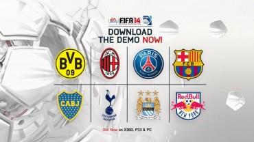 La demo de FIFA 14, disponible para PC, Xbox 360 y PS3