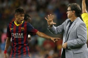 """Martino: """"Neymar a veces invita al rival a situaciones violentas"""""""
