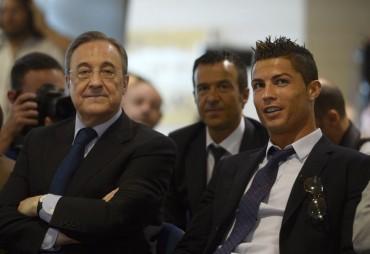 """Florentino: """"Cristiano se ganó el corazón de los madridistas"""""""
