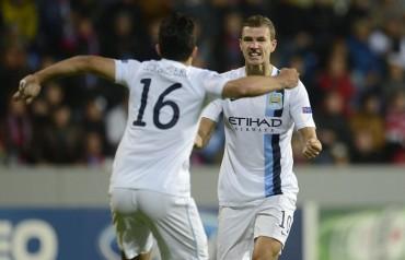 El Manchester City exhibe su potencial ante el Plzen