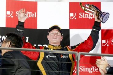 Kimi Raikkonen podría ser duda para el próximo GP de Corea