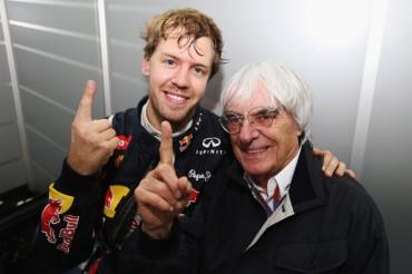 """Ecclestone: """"Vettel domina como lo hizo Michael Schumacher"""""""