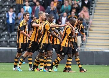 Hull City contra Huddersfield en la Copa Capital One en Inglaterra